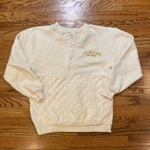 Vintage Checkered Sweatshirt